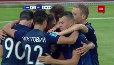 Десна - Львів - 1:0. Відео голу Фаворова