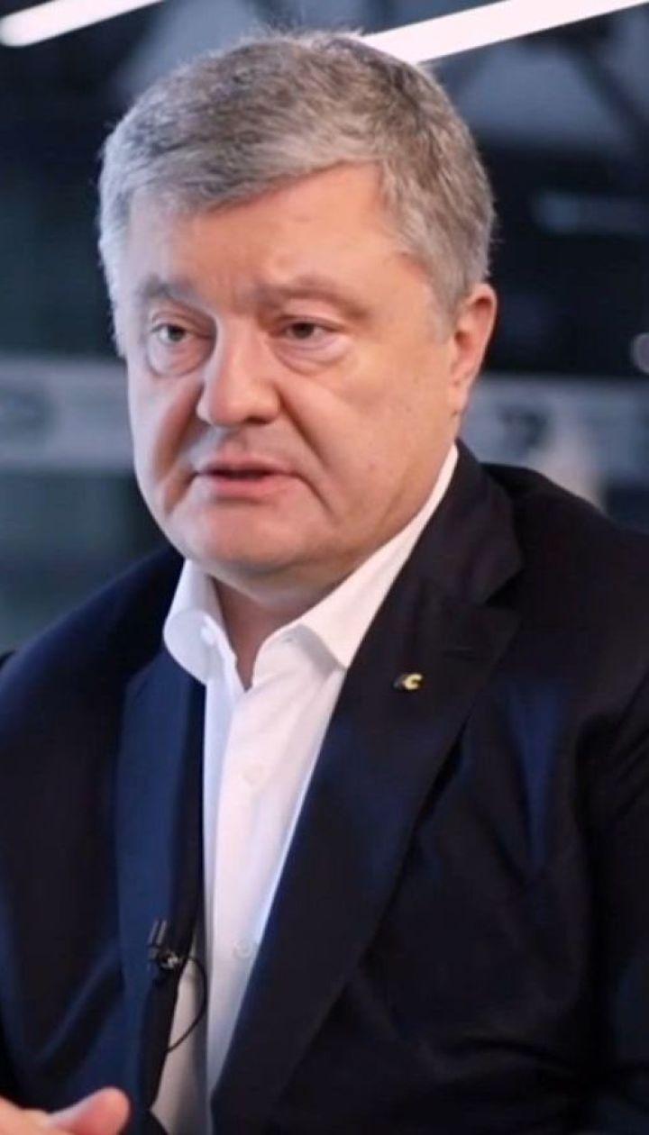 Арсен Аваков у соцмережі звинуватив у брехні Петра Порошенка