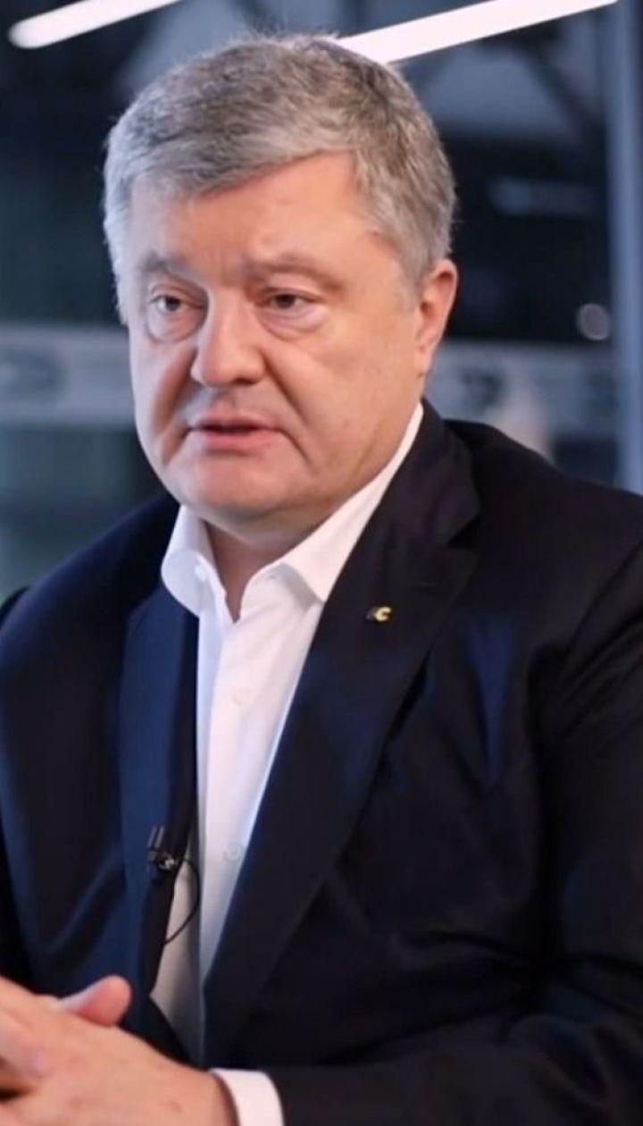 Арсен Аваков в соцсети обвинил во лжи Петра Порошенко