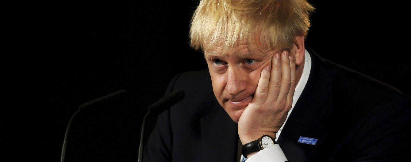Джонсон опровергает намерение просить ЕС отложить Brexit