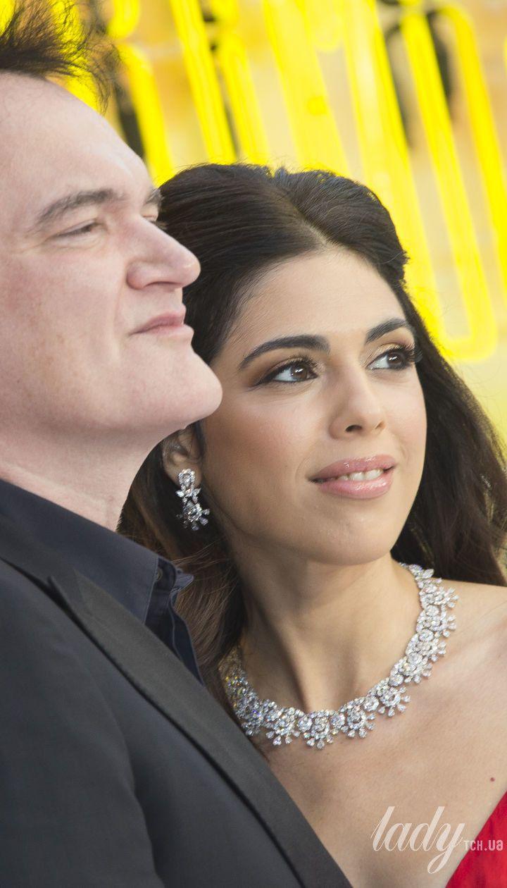 Квентин Тарантино с женой