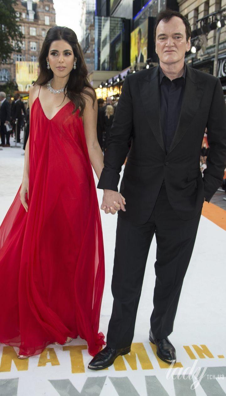 Квентін Тарантіно з дружиною