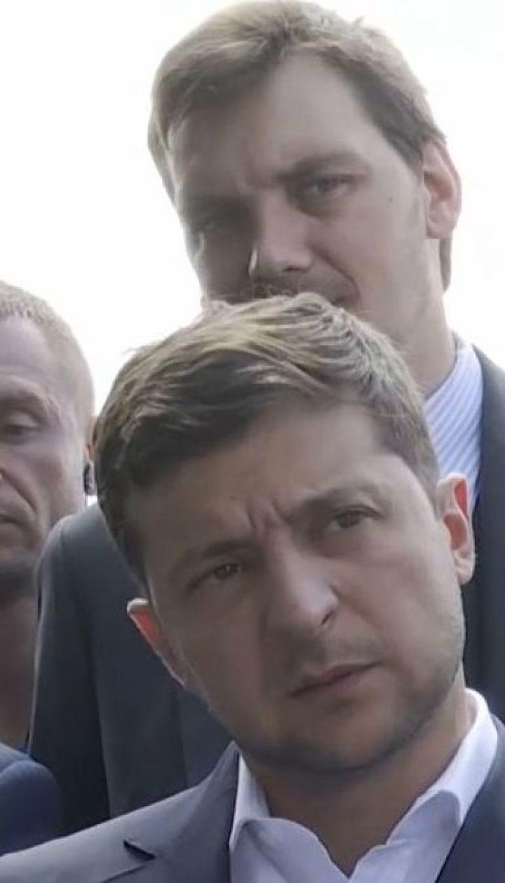 Бездоріжжя, аеропорт, що не діє та новий губернатор: Зеленський навідався на Черкащину