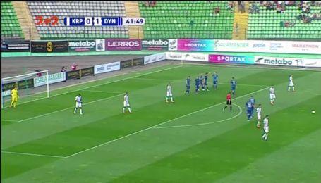 Карпати - Динамо - 0:1. Відео голу Ковтуна