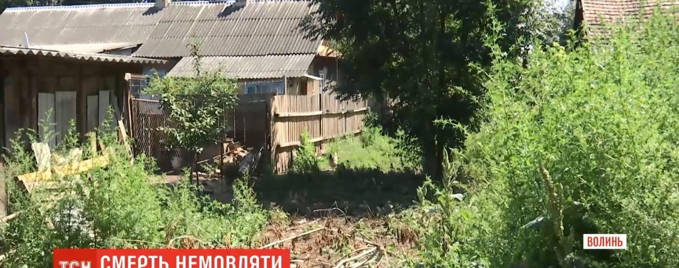 Новорожденное дитя молодой пограничницы с Волыни нашли закопанным на огороде