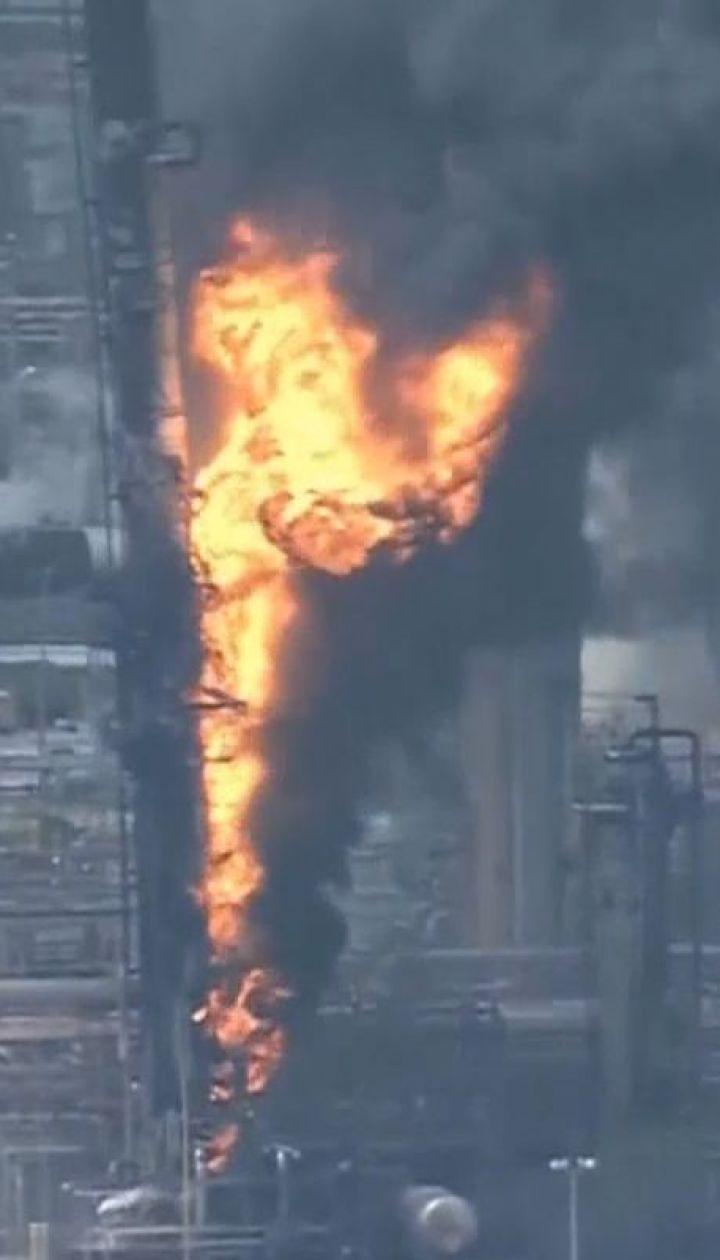 В Техасе горел нефтеперерабатывающий завод: пострадали по меньшей мере 60 человек