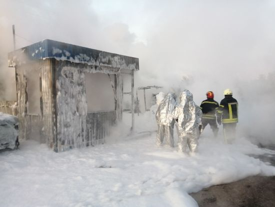 На Київщині палала АЗС: є постраждалі