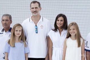 Долгожданный отпуск: испанская королевская семья на отдыхе в Пальма-де-Майорке