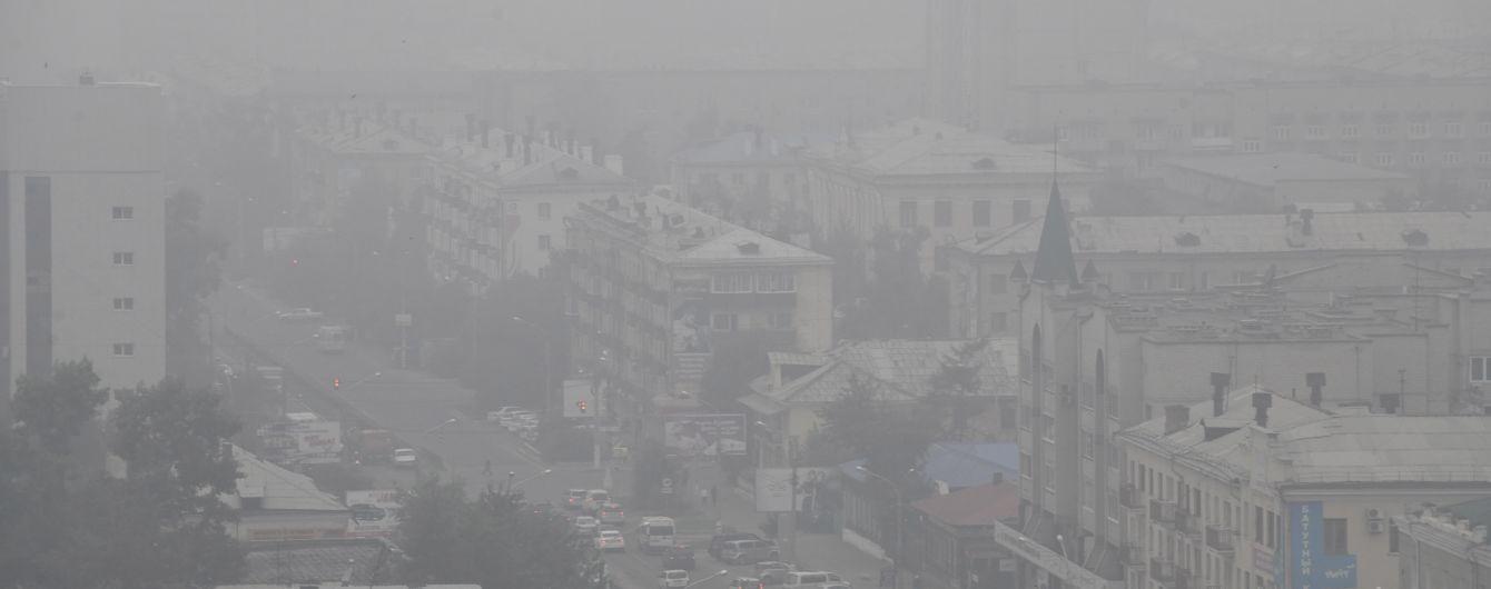 Масштабные лесные пожары в Сибири: дым уже окутал побережье США и Канады