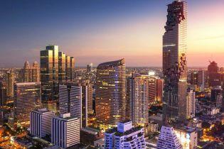 В Бангкоке открыли самый высотный ресторан Тайланда
