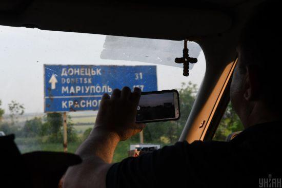 В Авдіївській промзоні бойовики стріляють з мінометів, гранатометів, стрілецької зброї і танка