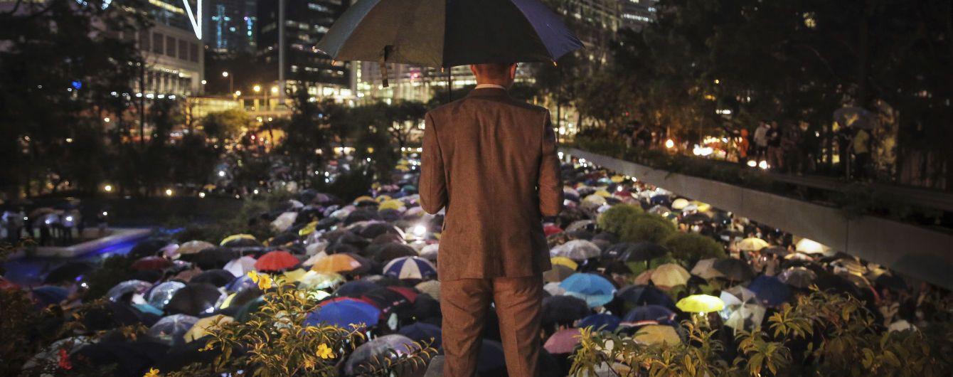 К протестам в Гонконге присоединились преподаватели университетов