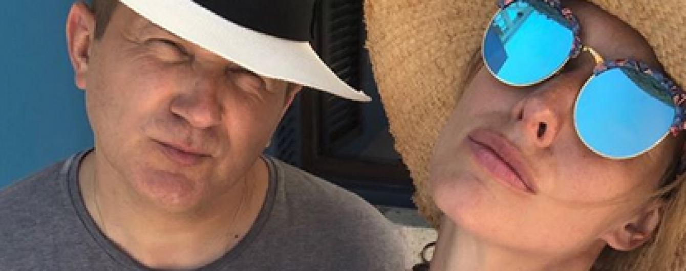 Наслаждаются вместе: Катя Осадчая и Юрий Горбунов на отдыхе