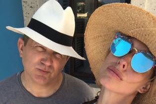 Насолоджуються разом: Катя Осадча та Юрій Горбунов на відпочинку