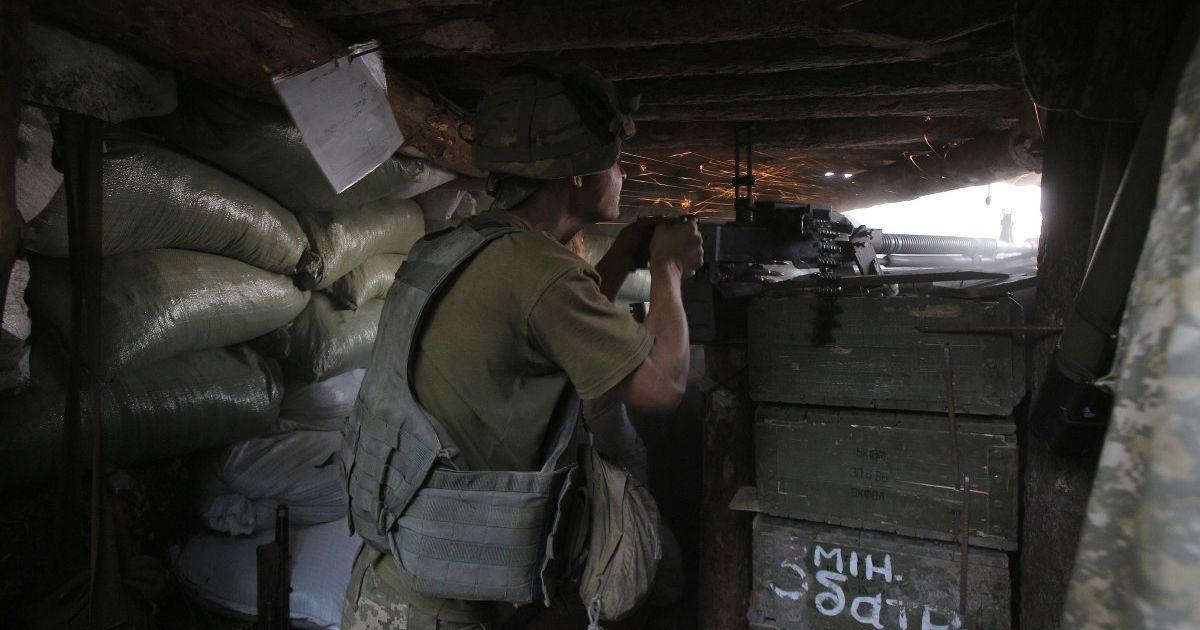 Боевики применили на Донбассе станковый гранатомет — штаб ООС