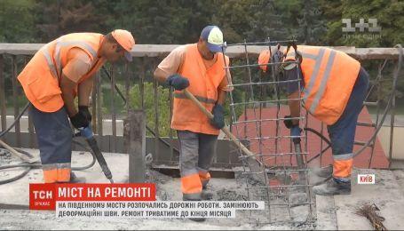 На Южном мосту новые ремонтные работы продлятся до конца августа