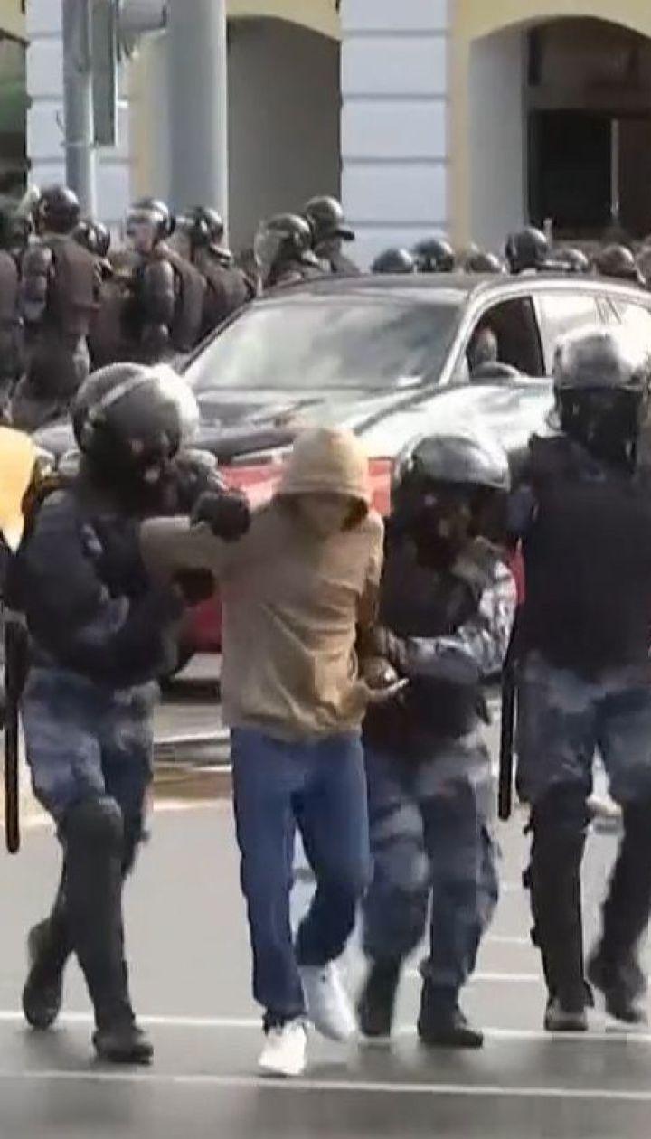 Спецназ, гелікоптери і заблоковані дороги: у РФ вкотре розганяють політичний мітинг