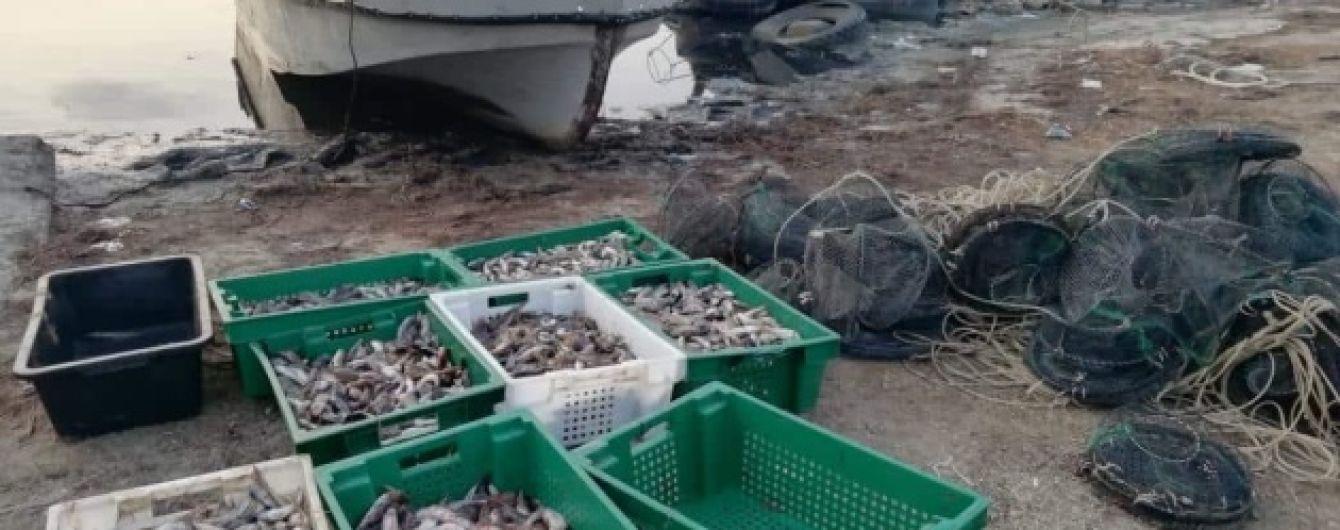 На Херсонщине водная полиция обнаружила незаконный вылов на сотни тысяч гривен