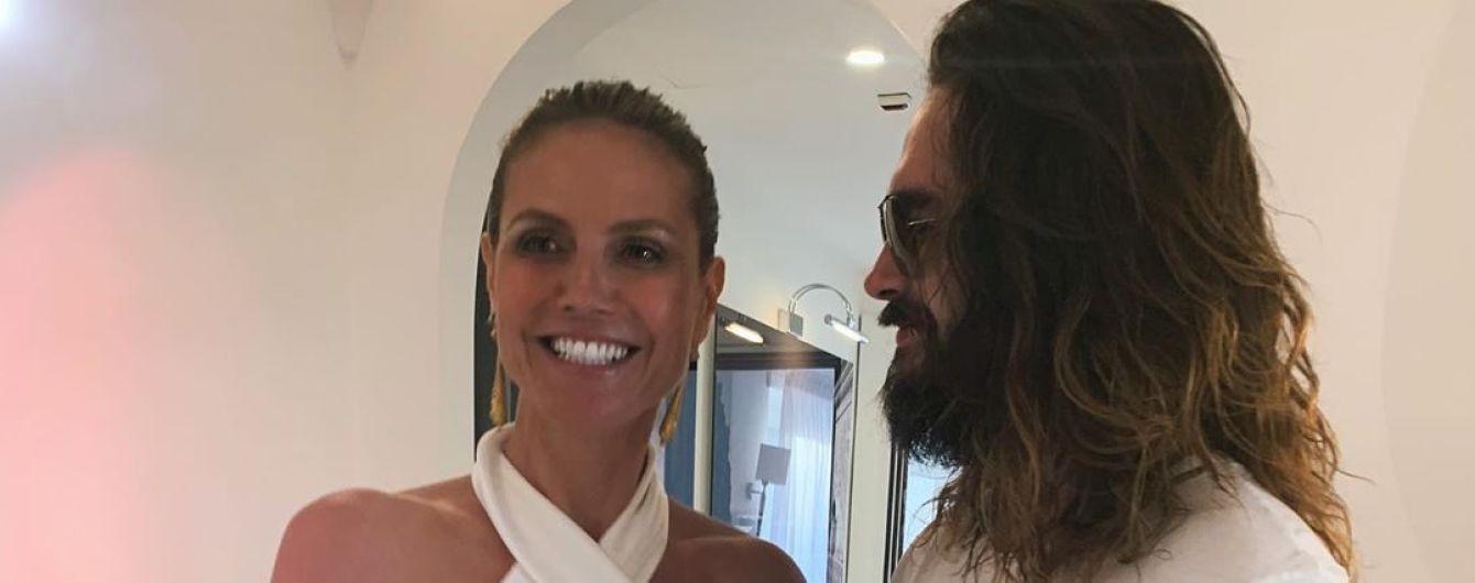 У Мережі з'явились перші знімки з італійського весілля Гайді Клум та Тома Кауліца