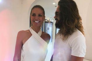 В Сети появились первые снимки c итальянской свадьбы Хайди Клум и Тома Каулица