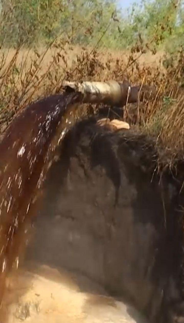 Жители Конотопа страдают от едкой вони из местного спиртзавода