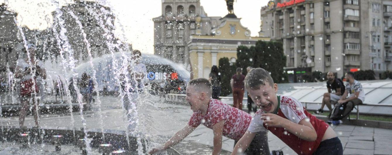Прогноз погоди на понеділок: в Україні буде тепло і без дощів