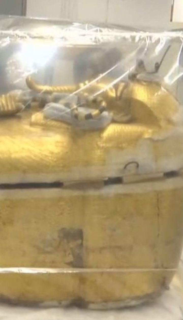 Саркофаг известного египетского фараона впервые отправляют на реставрацию