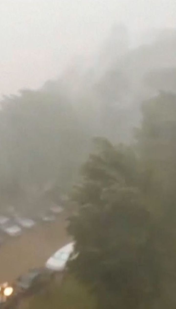 Зірвані дахи, повалені дерева та потрощені автівки: негода наробила лиха у східній Румунії