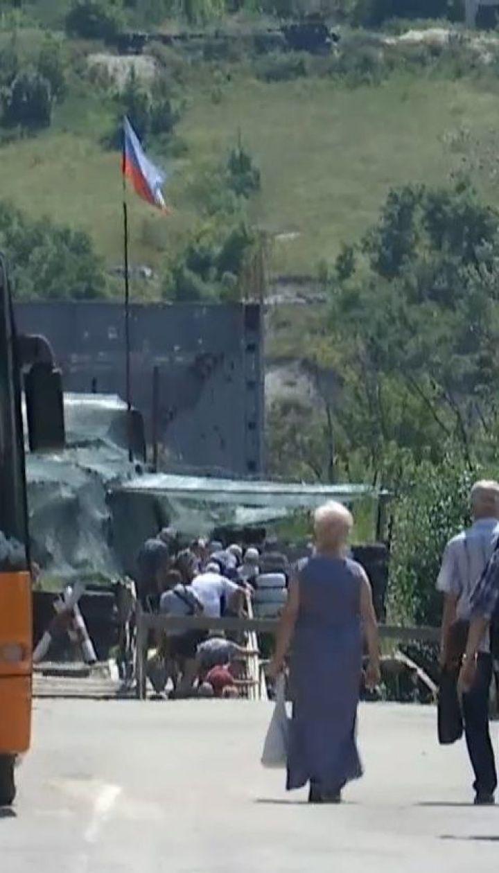 Из-за разминирования территории вокруг разрушенного моста КПВВ в Станице Луганской меняет график работы