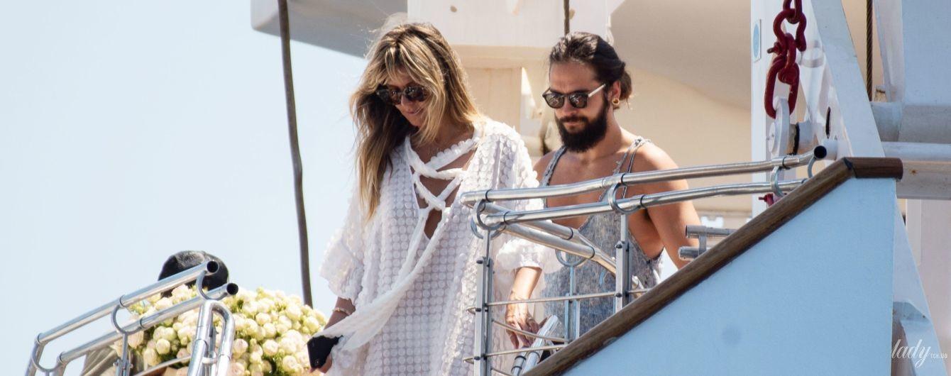 Весілля на знаменитій яхті: Гайді Клум і Том Каулітц одружилися на Капрі