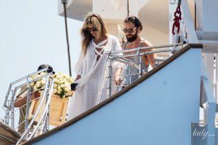 Свадьба на знаменитой яхте: Хайди Клум и Том Каулитц поженились на Капри