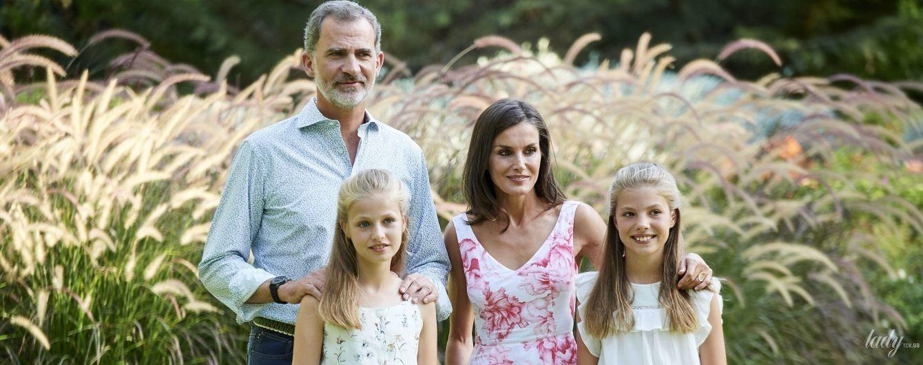 Съемка во время отпуска: испанская королевская семья предстала в новом фотосете