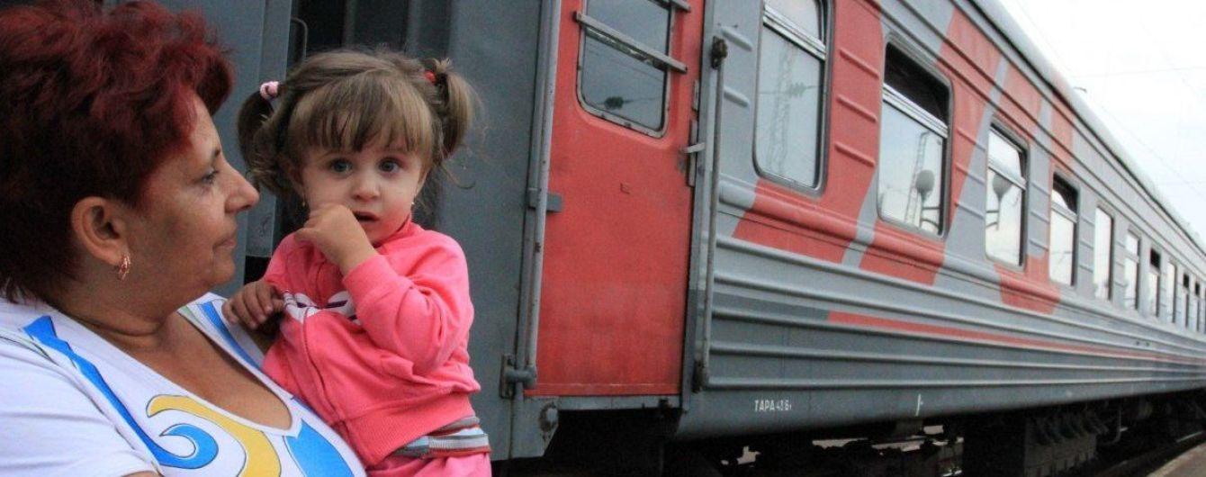 Минсоцполитики назвало количество переселенцев из оккупированного Донбасса и Крыма