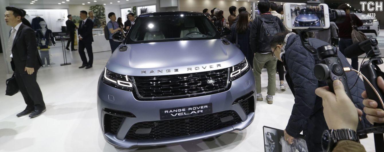 Появилась первая информация об электрическом Range Rover