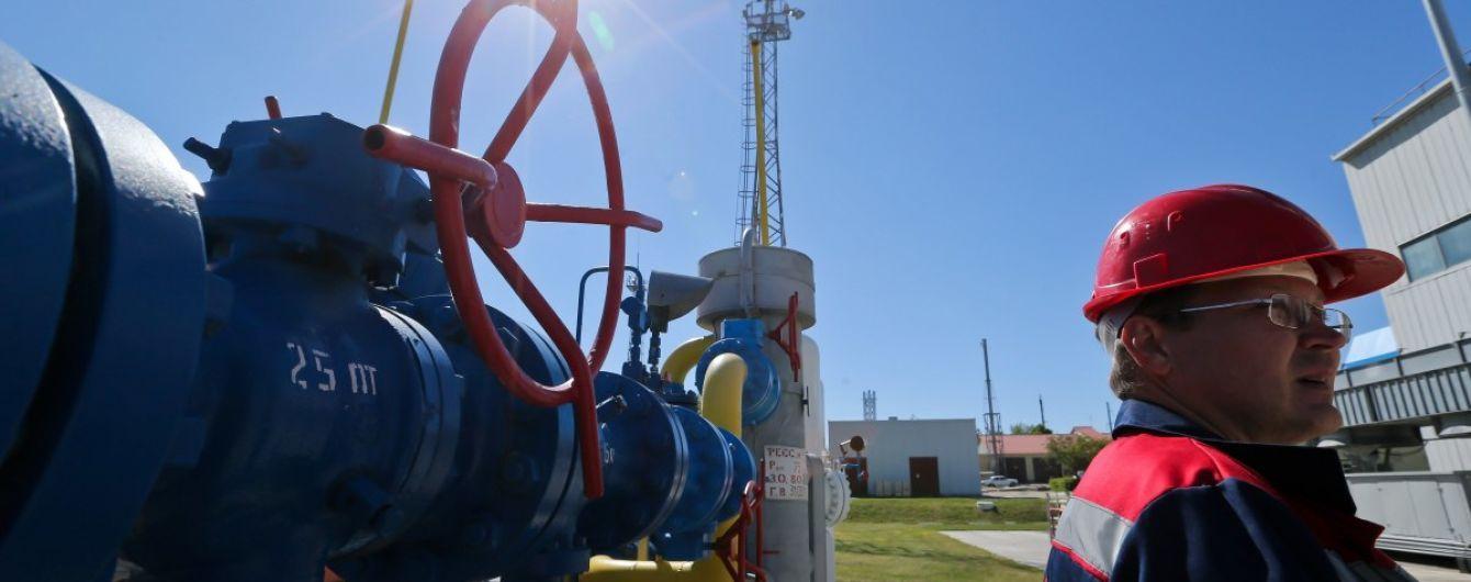 В Украине впервые воспользовалась услугой хранения газа немецкая компания RWE
