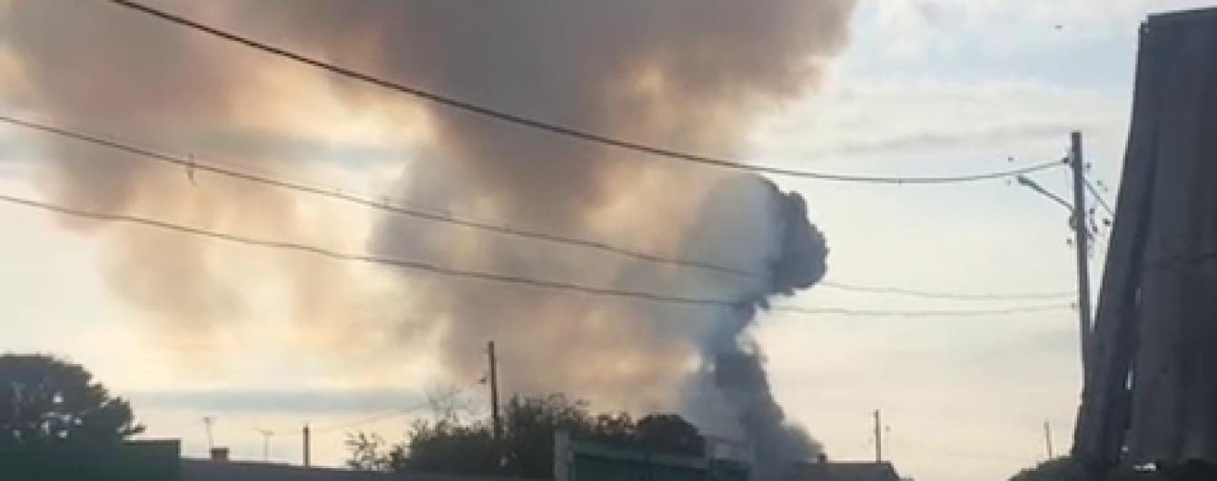 В Красноярском крае взорвался склад с боеприпасами, есть пострадавшие