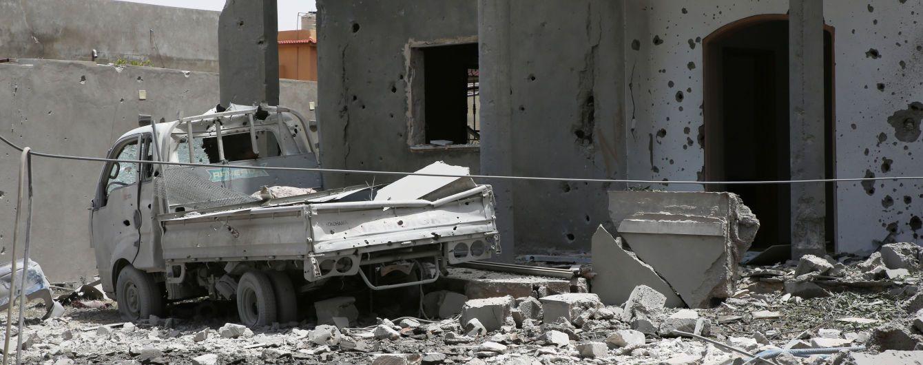 В Ливии взорвали автомобиль с сотрудниками ООН
