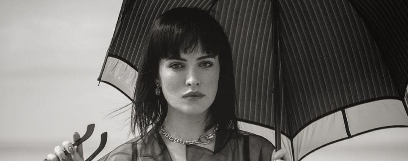 У своє 34-річчя Даша Астаф'єва знялася у чорно-білій фотосесії