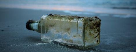 Десятилетний американец бросил послание в океан и через девять лет получил ответ из Франции