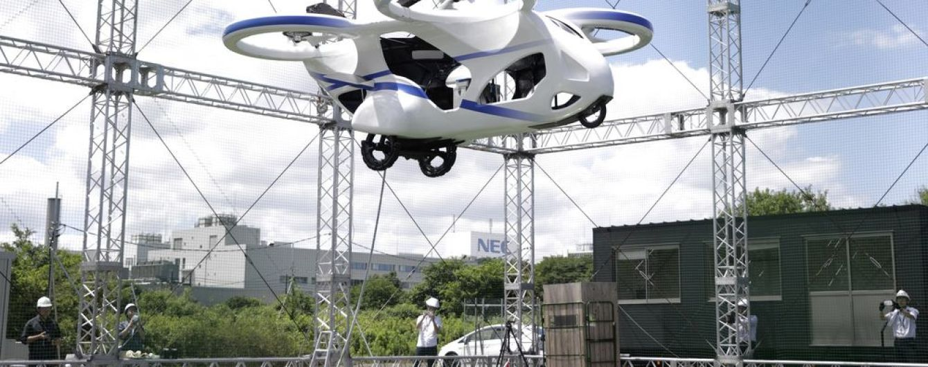 У Японії відбулися успішні тести летючої машини