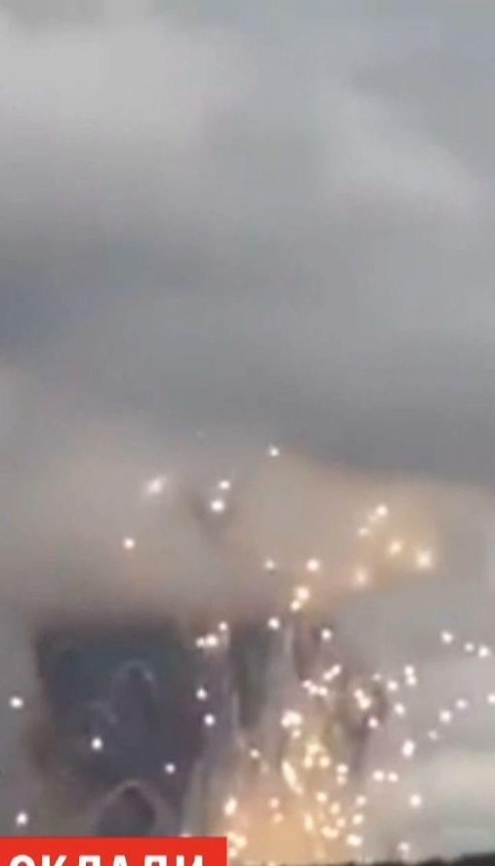 У Красноярському краї горять склади із боєприпасами