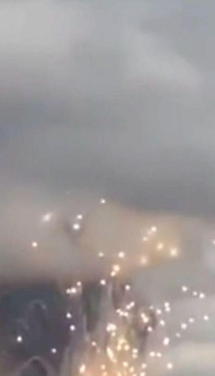 В Красноярском крае горят склады с боеприпасами