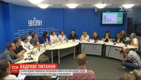 """Новообрані депутати від """"Слуги народу"""" розподілили посади в майбутній Верховній Раді"""