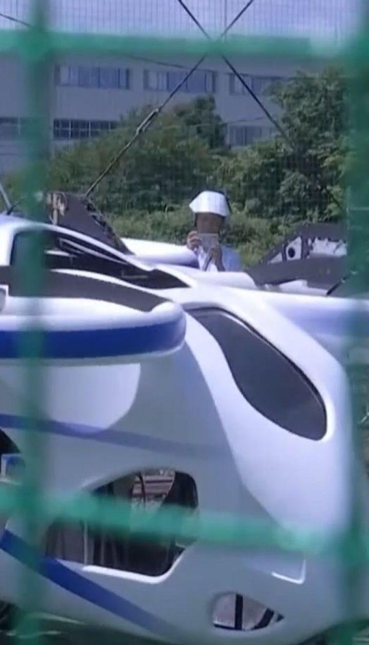 В Японии представили первый прототип летающего автомобиля