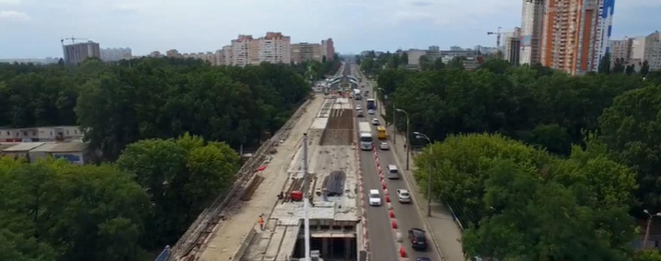 Кличко рассказал, когда в Киеве откроют Борщаговский путепровод