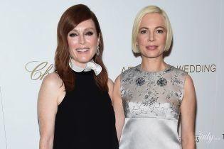 Красотки в мини-платьях: Джулианна Мур и Мишель Уильямс на спецпоказе своего нового фильма