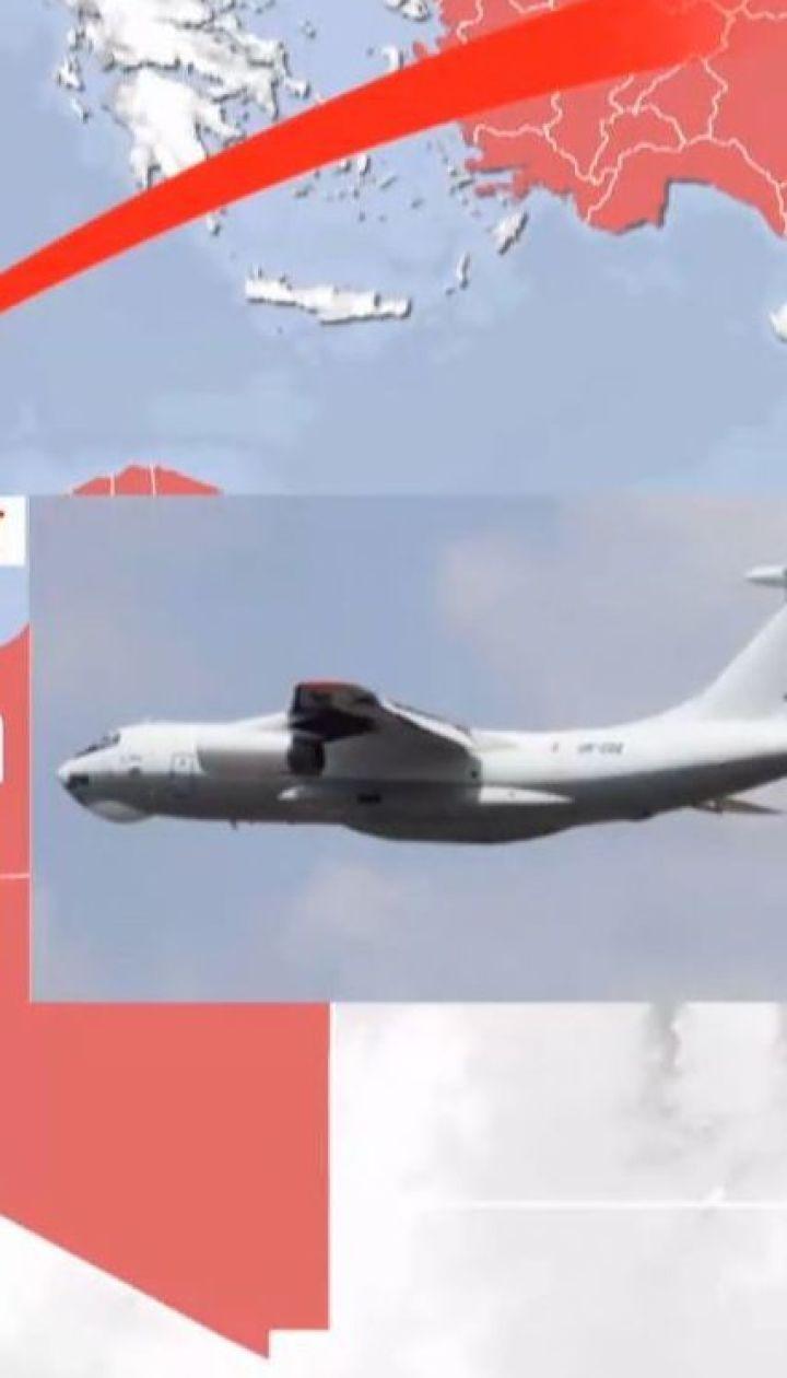 В Лівії обстріляли український Іл-76, що перевозив гуманітарний вантаж під егідою Червоного Хреста
