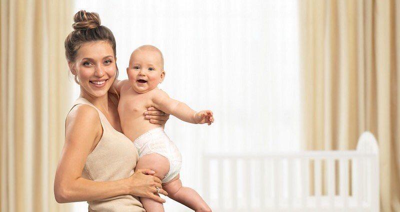 Регіна Тодоренко з сином