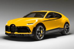 Електричний кросовер? Bugatti таємно готує новинку за $850 тисяч