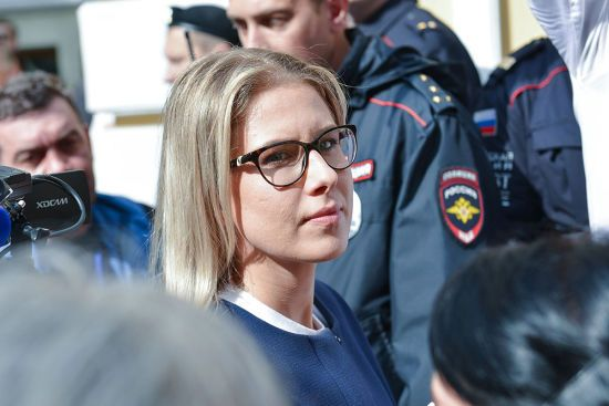 У Москві російську опозиціонерку Любов Соболь облили фекаліями